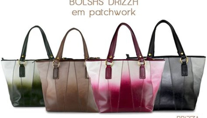 Novas bolsas no outlet online Drizza!